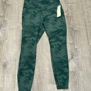NWT All in Motion Army Green Leggings Medium
